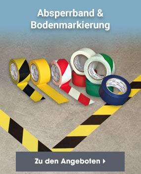 Absperrband & Bodenmarkierung