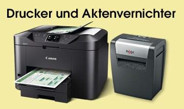 Drucker & Aktenvernichter