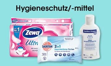 Hygieneschutz und -mittel