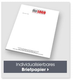 Individualisierbares Briefpapier