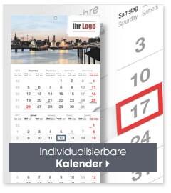 Individualisierbare Kalender