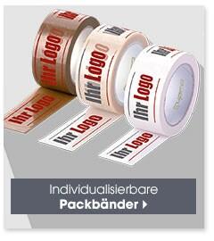 Individualisierbares Packbänder