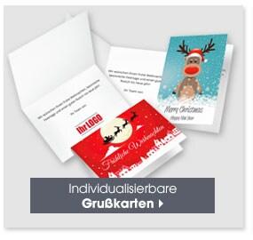 Individualisierbare Grußkarten