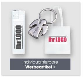 Individualisierbare Werbeartikel