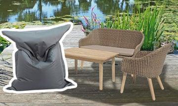 Gartenmöbel zum Relaxen