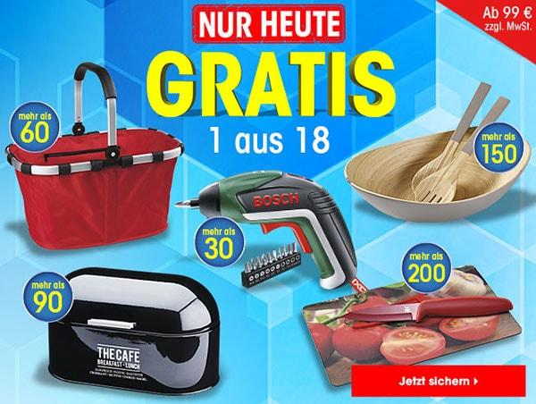 ▷ Nur heute: 1 aus 18 Geschenken GRATIS! • Otto Office Gutscheine ...